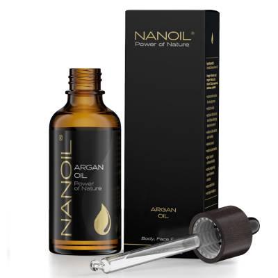 Najlepszy olej arganowy - Nanoil